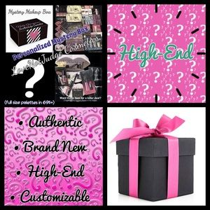 Other - High End Authentic Mystery Makeup Box! 5*Reviews